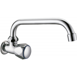 tap sink wall una sola water with spout of tube