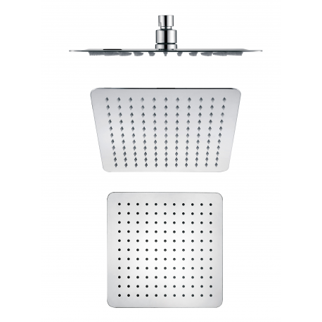 Shower head SQUARE METALLIC