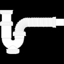 Siphon curvo