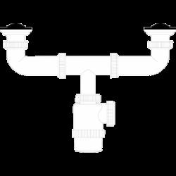 Siphon double extending
