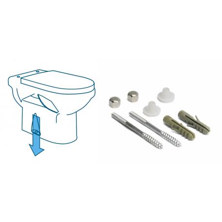 Set screw tank WC
