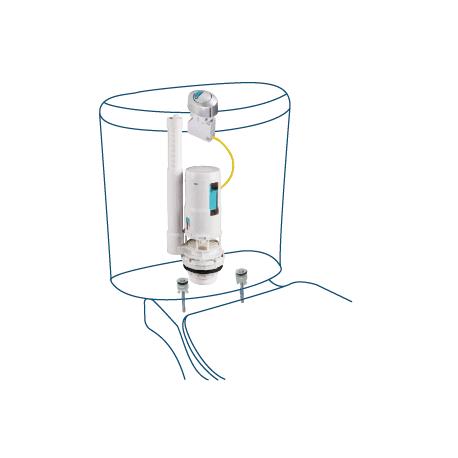 Descarga cisterna w c doble pulsador orfesa s a for Pulsador cisterna