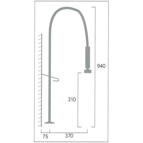 Pre-Rinse Pulldown Kitchen Faucet