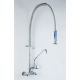 Pre-Rinse Kitchen Faucet Wall Mount with spout