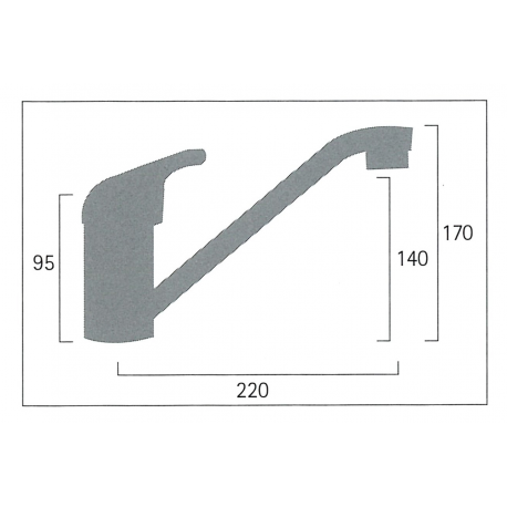 Single lever bar