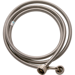 tube of rubber with braided stainless entrada washer