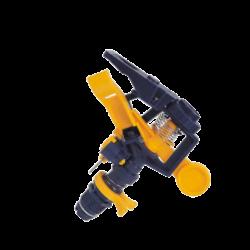 Aspersor de baja presión con alcance entre 10-14 mts