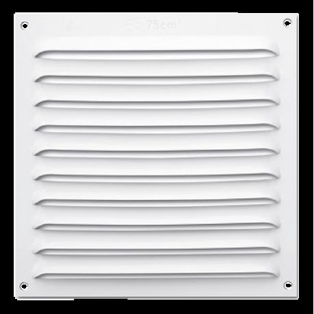 Rejilla ventilación plana