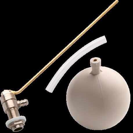 KIT flotador cisterna silencioso con boya porexpan