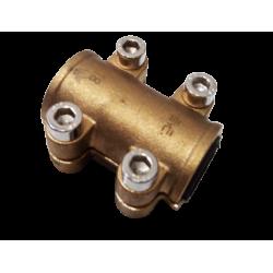 Abrazadera tipo RD Gebo para tubo cobre