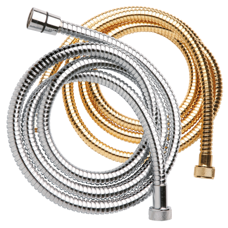DOUBLE FLEXIBLE HOSE SHOWER