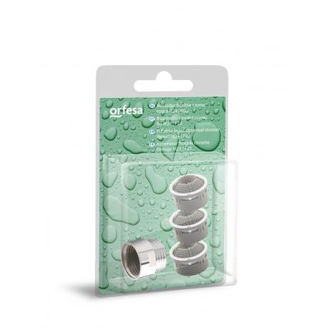 Kit ahorro recambios filtro + estabilizador de ducha