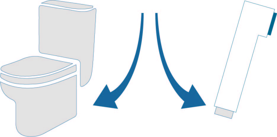 alimentación cisterna y toma de agua