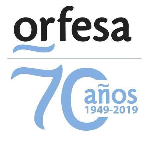 logo 70 aniversario orfesa