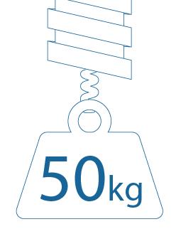 tensión 50 kg