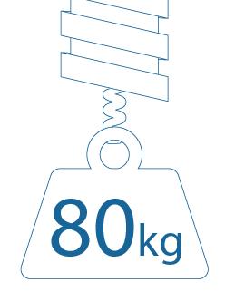tensión 80kg